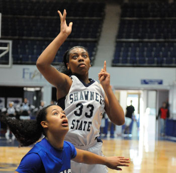 Catrice Mitchell scored a team-high 24 points in today's win.