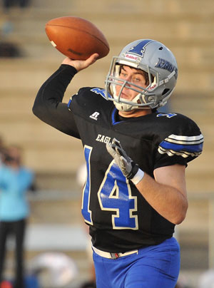 Faulkner's Josh Hollingsworth is the MSC West Division Offensive Player of the Year.