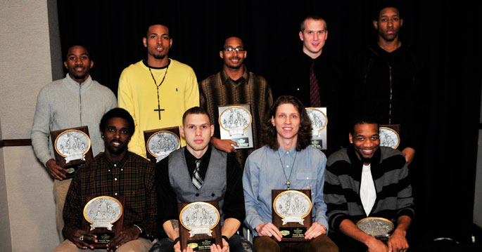 2013 Men's Basketball All MSC first team