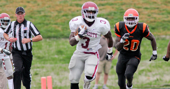 Terrance Cobb is one of three MSC players to earn All-American honors.