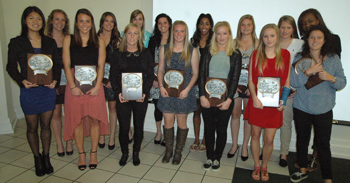 All Mid-South Conference first-team.