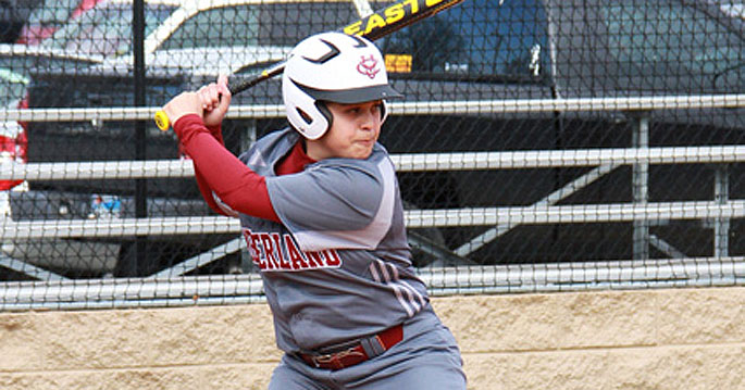 Natalie Garcia's two-run homer in an eight-run sixth inning put CU ahead to stay in the 10-3 victory over Virginia Intermont.