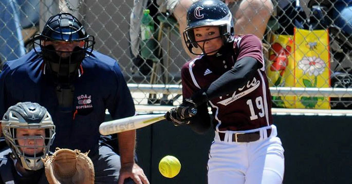 Campbellsville's Emma Napier is the Mid-South Conference Softball Player of the Week.