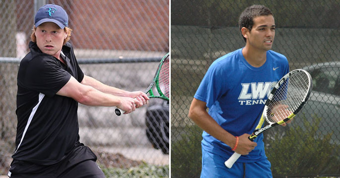 Cumberland's Antonio Manuel Marcelo (left) and Lindsey Wilson's Fernando Bogajo earned first-team All-American honors