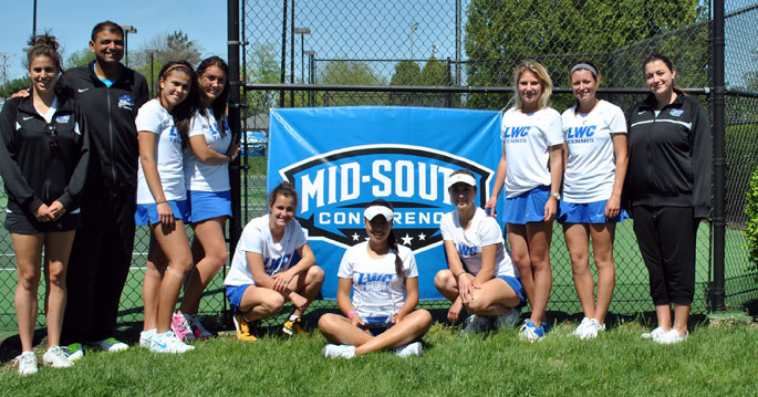 Lindsey Wilson women's tennis claims 10th-straight MSC Tournament title with 5-0 win over No. 21 Campbellsville.