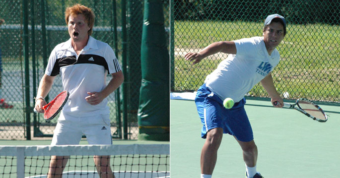 Antonio Manuel Marcelo (left) and Edberg Espinosa earned first team honors