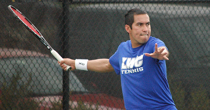 Pablo Vilches finished the 2014 season with a perfect 17-0 singles record