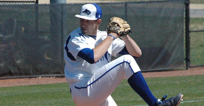 Lindsey Wilson�s Scott Sebald is the MSC Pitcher of the Week