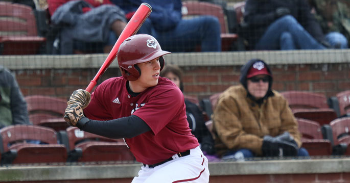 Phil Stiles is the Mid-South Conference Baseball Player of the Week