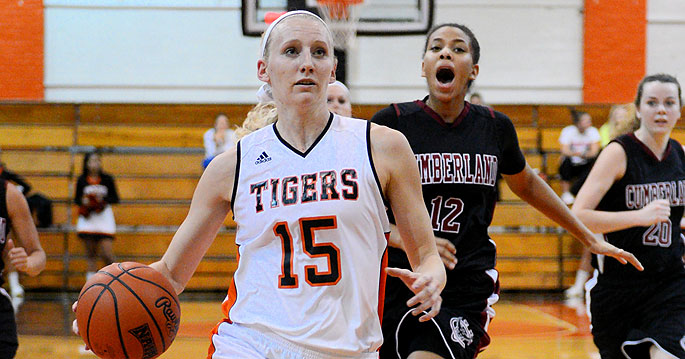 Georgetown�s Jessica Foster scored a career-high 26 points in the Tigers' win today