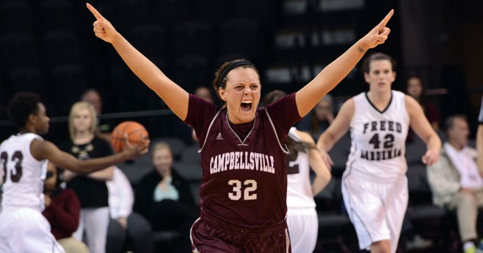 Lindsey Burd scored the final six points to push LTB to the NAIA championship game