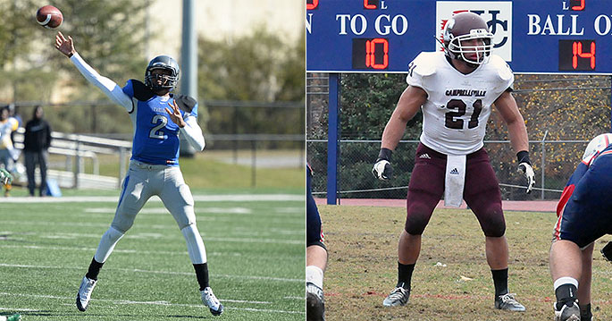 Terrell Robinson and Daniel DeLeon earn MSC West Division Player of the Year honors