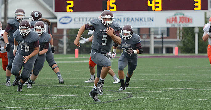 Campbellsville�s Jacob Russell is the  Mid-South Offensive Player of the Week