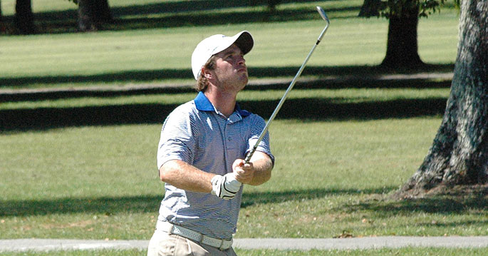 Lindsey Wilson�s Chris Butler leads the tournament by one shot