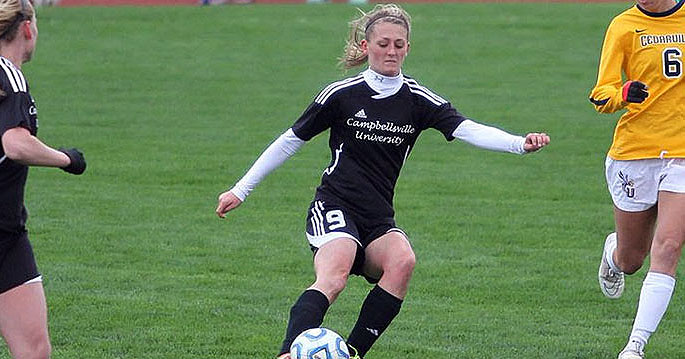 Mhairi Fyfe is the MSC Women's Soccer Offensive Player of the Week