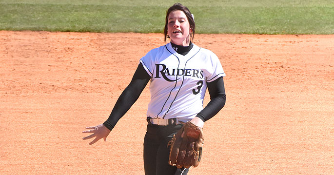 Casey Bryan is the MSC Softball Pitcher of the Week