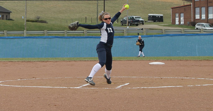 Allie Chapman is the MSC Softball Pitcher of the Week
