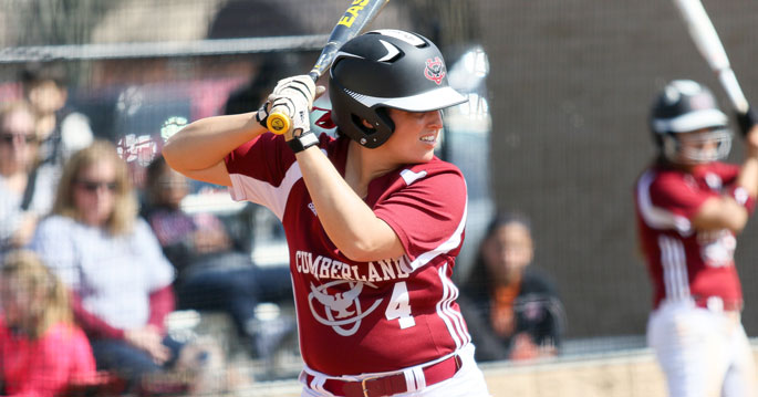 Kassydi Montgomery is the Mid-South Conference Softball Player of the Week