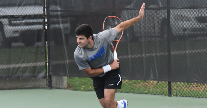 Denis Porcic is the NAIA Men's Tennis Player of the Week