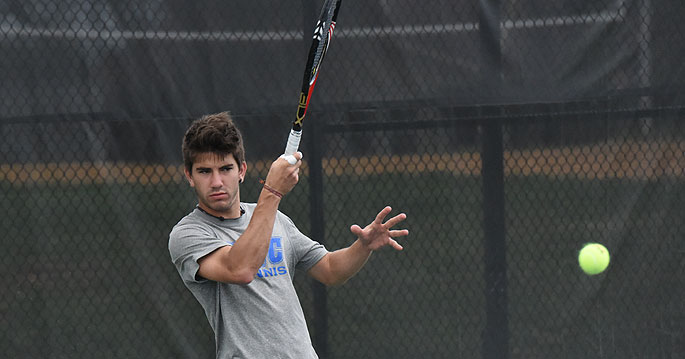 Pablo Vilches is the NAIA Men's Tennis Player of the Week