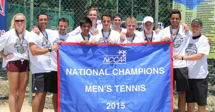Campbellsville wins its second NCCAA title in four years (Photo by Dave Beyer - McMurry Univeristy)