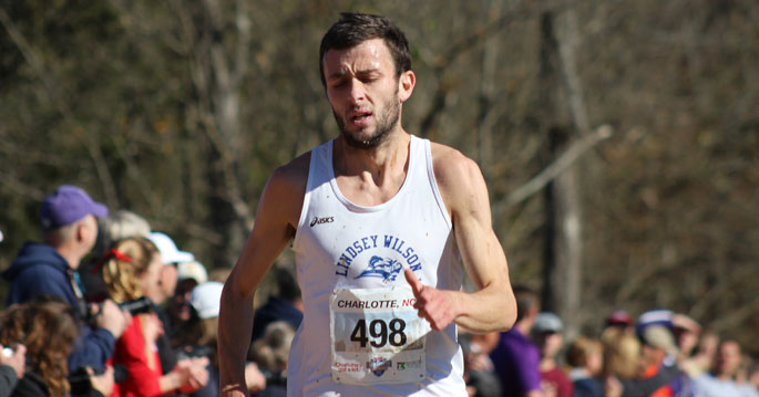 John-Paul Williamson earned NAIA All-American honors on Saturday with his finish on Saturday